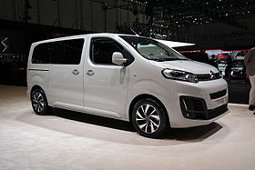 Image illustrative de l'article Citroën SpaceTourer - Peugeot Traveller - Toyota ProAce II