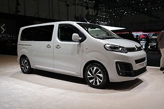 Citroën Jumpy - 2016 Citroën SpaceTourer