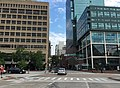 2016-07-27 08 43 58 View north along Maryland State Route 2 (Calvert Street) at Pratt Street in Baltimore City, Maryland.jpg