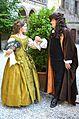 2016-09-12 Pressekonferenz Leibniz Büste Schloss Marienburg (272) Kurfürstin Sophie und Gottfried Wilhelm Leibniz.JPG
