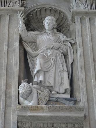 Louis de Montfort - Statue of Louis de Montfort at Saint Peter's Basilica