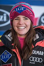 2017 Audi FIS Ski Weltcup Garmisch-Partenkirchen Damen - Tina Weirather - by 2eight - 8SC0818.jpg