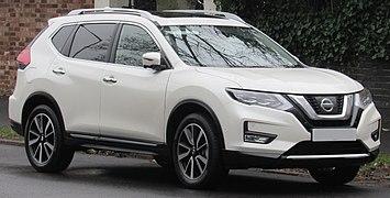 2017 Nissan X-Trail Tekna Dig-T facelift 1.6 Front