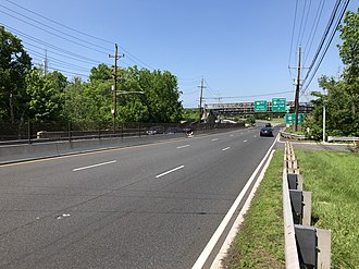 Somerville, New Jersey - US 202/206 in Somerville, the largest and busiest highway in the boro