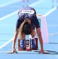 2018-10-16 Stage 2 (Boys' 400 metre hurdles) at 2018 Summer Youth Olympics by Sandro Halank–091.jpg