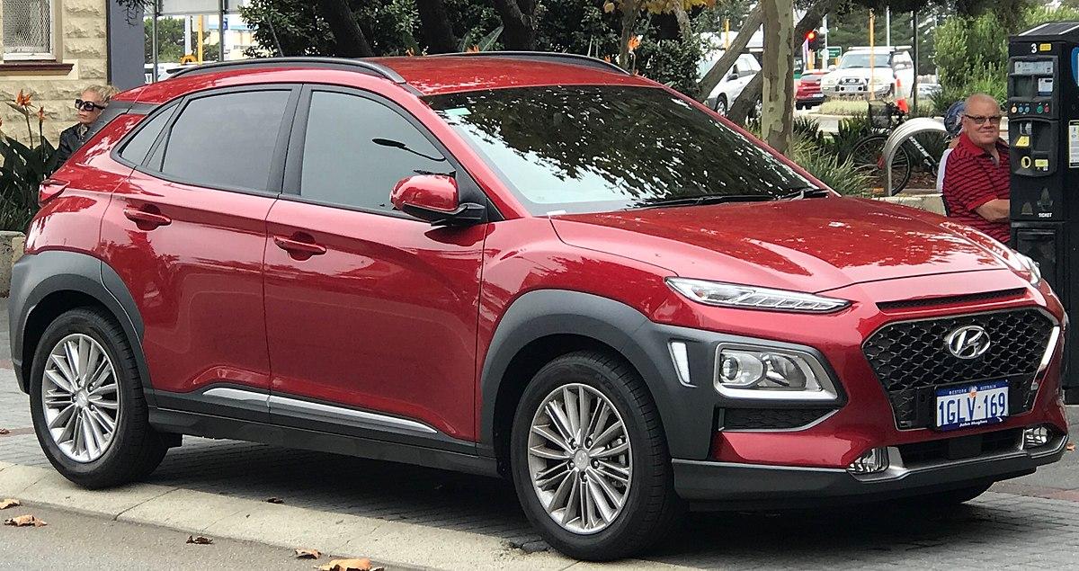 2019 G Wagon >> Hyundai Kona - Wikipedia