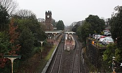 2018 at Ulverston station - view from the east.JPG