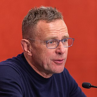 Ralf Rangnick German footballer and manager