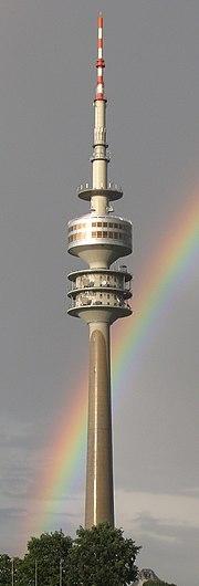2529a - München - Olympiaturm from Olympiastadion - Genesis.JPG