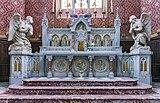31 - Buzet-sur-Tarn - Eglise St Martin - Le maître-autel neo-gothique.jpg