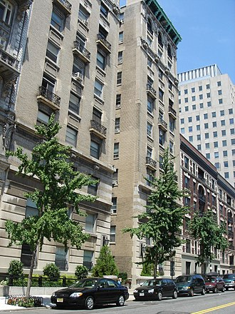 David Dodd - Dodd's residence (1950s - 60s):  39 Claremont Avenue (down the street from Juilliard's former home), Morningside Heights (2006 photo)