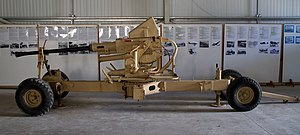 Nuffield Mechanizations and Aero - Bofors anti-aircraft gun