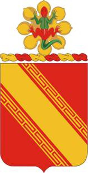 44th Air Defense Artillery Regiment - Coat of arms