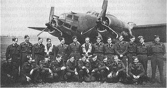 No. 487 Squadron RNZAF - Squadron NCOs at RAF Methwold early 1943
