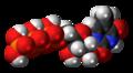 5-Methyluridine triphosphate 3D spacefill.png