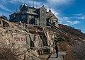 50474-日观峰与泰山气象站.jpg