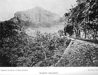 Nilgiri Mountain Railway - Image: 50Nilgiri Railway