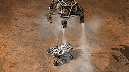593496main pia14840 full Curiosity Touching Down, Artist's Concept