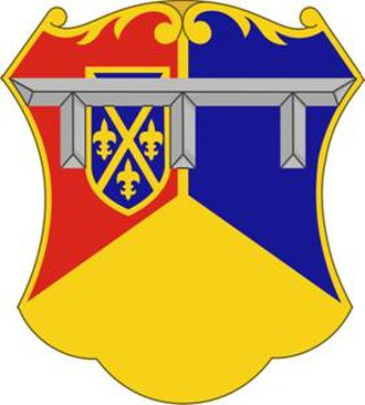 1st Brigade Combat Team, 1st Infantry Division (United States) - Image: 66Armor Regt DUI
