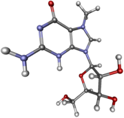 7-Methylguanosine ball-and-stick.png