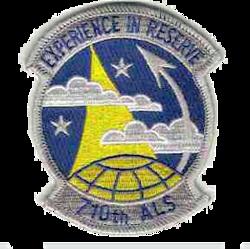 710th Airlift Squadron - AMC - Emblem
