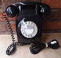 741 telephone in black.JPG