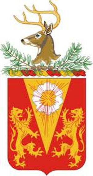 86th Field Artillery Regiment - Coat of arms