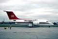 95aq - Royal Air Force Queens Flight BAe 146-C1; ZE701@LCY;01.06.2000 (5363549762).jpg