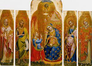 Lorenzo Veneziano - Annunciation Polyptych