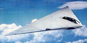 McDonnell Douglas A-12 Avenger II - An artist's impression of the A-12 Avenger II in flight