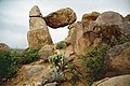 A083, Big Bend National Park, Texas, USA, balanced rock, 2004.jpg