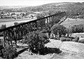 AERIAL VIEW OF BRIDGE - Erie Railway, Allegany Division, Genesee River, Caneadea, Allegany County, NY HAER NY,2-BELF.V,1-2 (cut).jpg