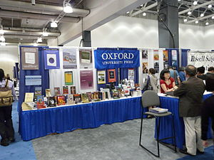 Oxford University Press - A conference booth (2008).
