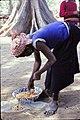 ASC Leiden - W.E.A. van Beek Collection - Dogon markets 37 - Peanuts at Tireli market, Mali 1990.jpg