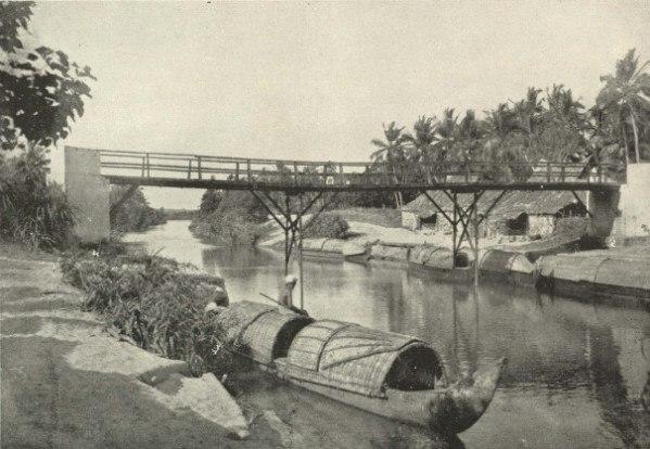 A Canal Scene, Travancore