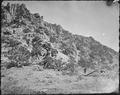 A bluff of quartzite, near the mouth of Red Creek, in Brown's Hole. Daggett County, Utah. - NARA - 516942.tif