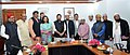 A delegation from Malaysia meeting the Union Minister for Minority Affairs, Shri Mukhtar Abbas Naqvi, in New Delhi on October 26, 2017 (2).jpg