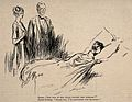 A doctor asks how his patient is feeling, the patient (a pre Wellcome V0011509.jpg
