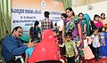 A healthy baby contest for promoting Mission Indradhanush in progress at the Public Information Campaign, organised by the Press Information Bureau, Cochin, at Orkatteri, in Kozhikode district, Kerala on December 30, 2015.jpg