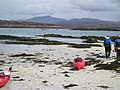 A kayak on the beach - geograph.org.uk - 225720.jpg
