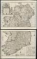 A new map of Ireland according to Sr. W. Petty (but supplied wth. many additions which are not in his survey nor in any other map) divided into its provinces, counties & barronies ... county maps (8643652942).jpg