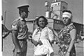 A police sergeant with two of the wounded workers of the Abic pharmaceutics factory after the artillery attack on Natania from Jordanian territory. June 1967. D327-132.jpg