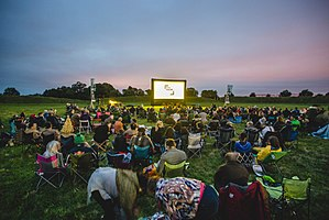 Belfast Film Festival - Image: A previous Belfast Film Festival screening of The Wicker Man at the Giant's Ring