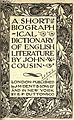 A short biographical dictionary of English literature, title 2.jpeg