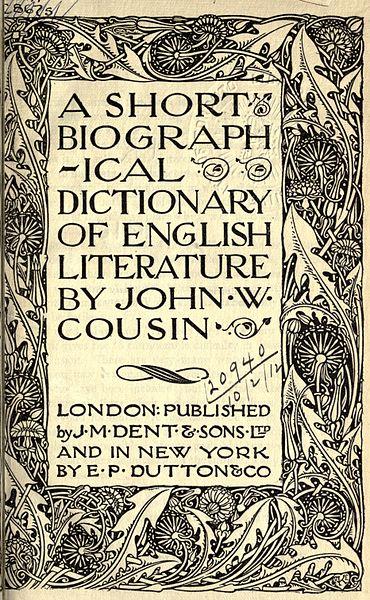 introduction to english literature pdf