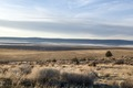 A view from U.S. 395 of mostly dry Goose Lake, which stretches from Modoc County in far-northeastern California up into southern Oregon LCCN2013631216.tif