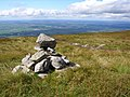 A wee marker Cairn beside the footpath - geograph.org.uk - 526459.jpg