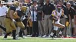 Aaron Horne Toes the Sideline (7976849227).jpg