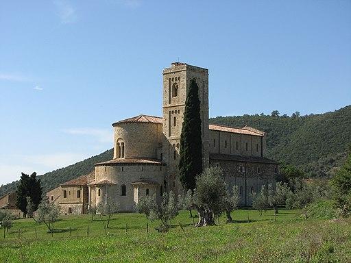 Abbazia di Sant'Antimo - 08