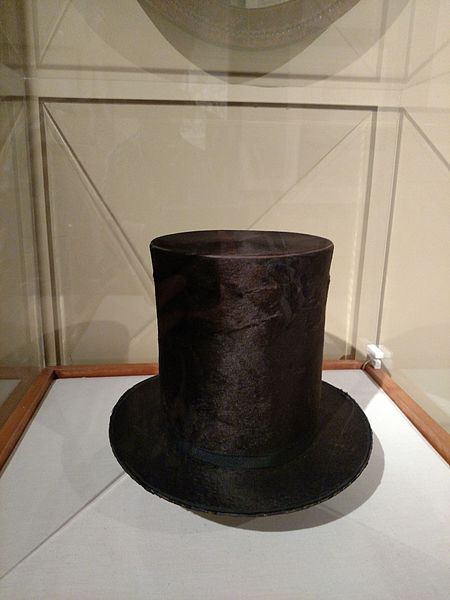 File:Abraham Lincoln's Stovepipe Hat - Flickr - brewbooks.jpg